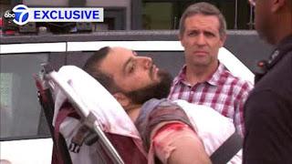 Captured Moslem Terrorist Ahmad Khan Rahami