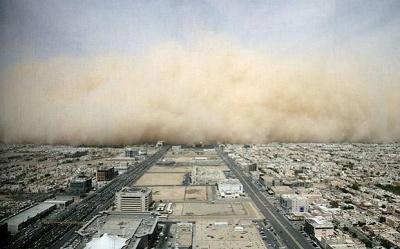Sandstorm over Riyadh