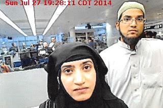 Syed Rizwan Farook and wife Tashfeen Malik