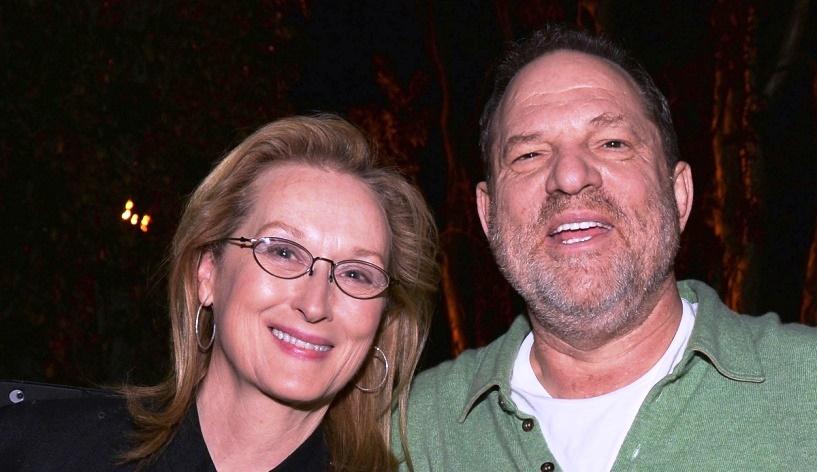 Best friends Meryl Streep and Harvey Weinstein