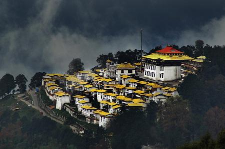 Tawang Tibetan Monastery, Arunachal Pradesh, India