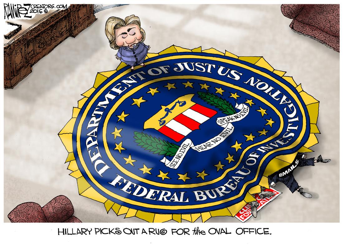 HillaryPicksARug