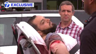 Captured Moslem Terrorist Ahmad Khan Rahami