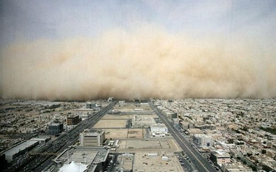 Sandstorm over Riyadh