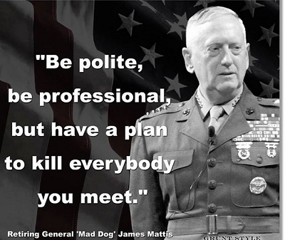 James Mad Dog Mattis