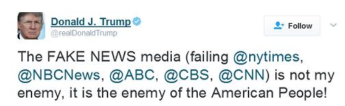 trump-fake-news-tweet