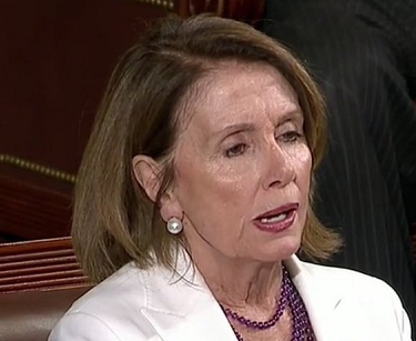 Pelosi listening to Trump destroy her party