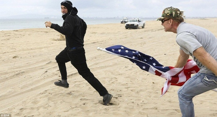 Chasing a Fake American