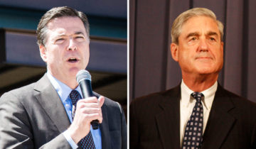 Best Buds – Comey and Mueller