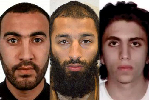 Faces of Evil: The London Bridge Moslem Terrorists