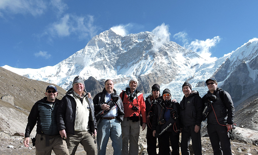 TTPers at Makalu – world's 5th highest mountain 27,838 ft.
