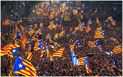 Catalans demand full independence from Spain