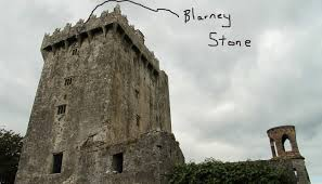 Blarney Castle – County Cork to kiss the Blarney Stone you must be suspended upside down – no problem