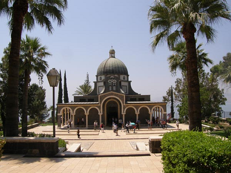 Church of Beatitudes – Sea of Galilee