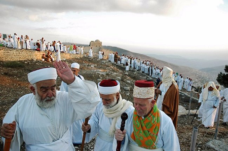 Samaritans on Mount Gerizim