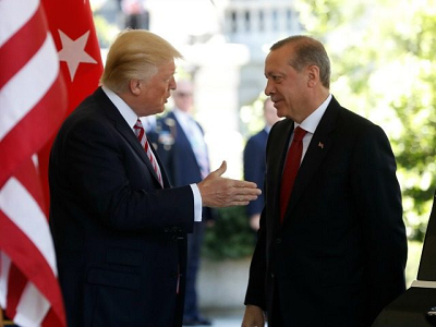 Erdogan at the White House May 2017