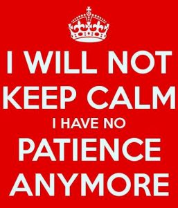 no-calm-no-patience