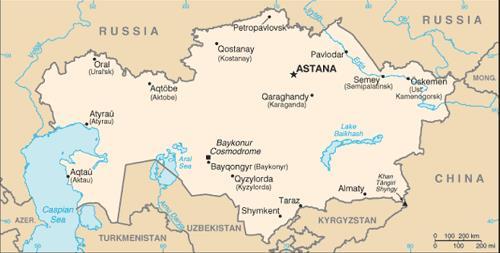 kazakhstan-on-map