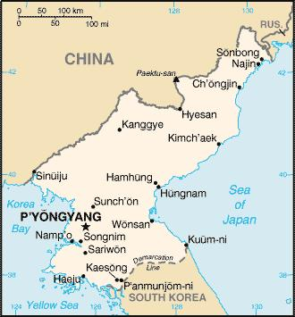 korea-on-map