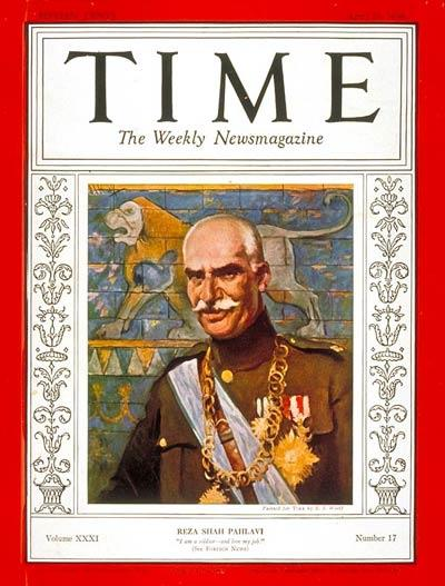 Time Magazine April 25, 1938