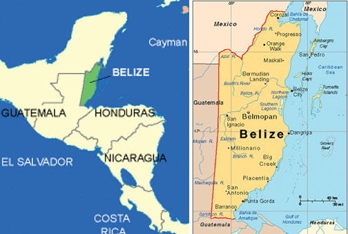 belize-on-the-map