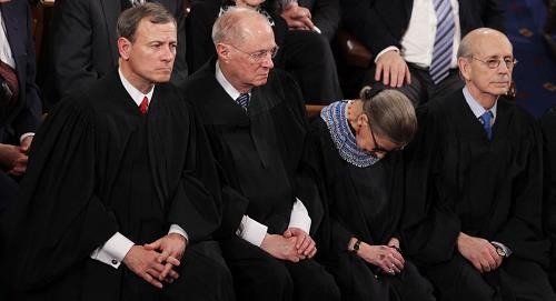 "Justice Kennedy: ""Ruth is 85 – do I tell her it's time to retire?"""