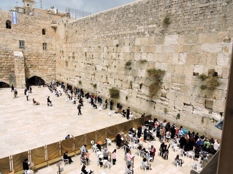 Western Wall, Temple Mount, Jerusalem, Israel