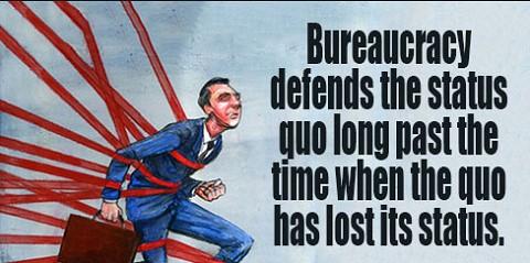 bureaucracy-status-quo