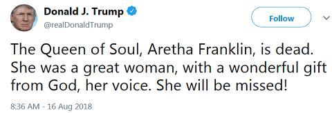 aretha-tweet-from-trump