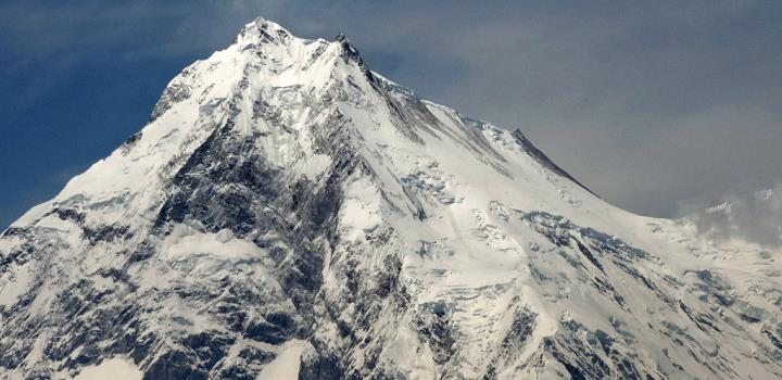 Manaslu, 8th highest mountain in the world, 8163m/26,775ft