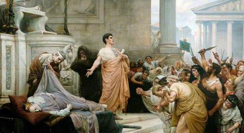"Marc Antony – ""I come to bury Caesar"""