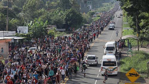 """This is an Invasion, not a """"caravan"""""""