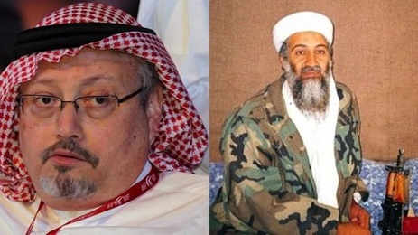 Jamal Khashoggi and his hero Osama bin Laden