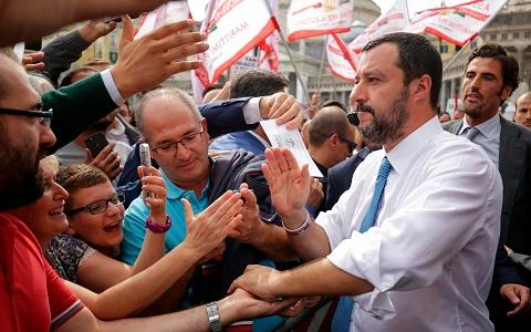 Italy's hero – Vice-Premier Matteo Salvini