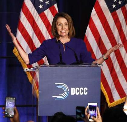 Pelosi Galore celebrating last night – due to Fox?