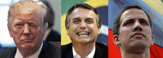 America's Trump, Brazil's Bolsonaro, Venezuela's Guaidó