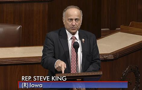 Congressman King addressing Congress, January 11, 2019