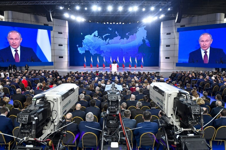 "Putin delivers ""State of the Nation"" address, February 20, 2019"