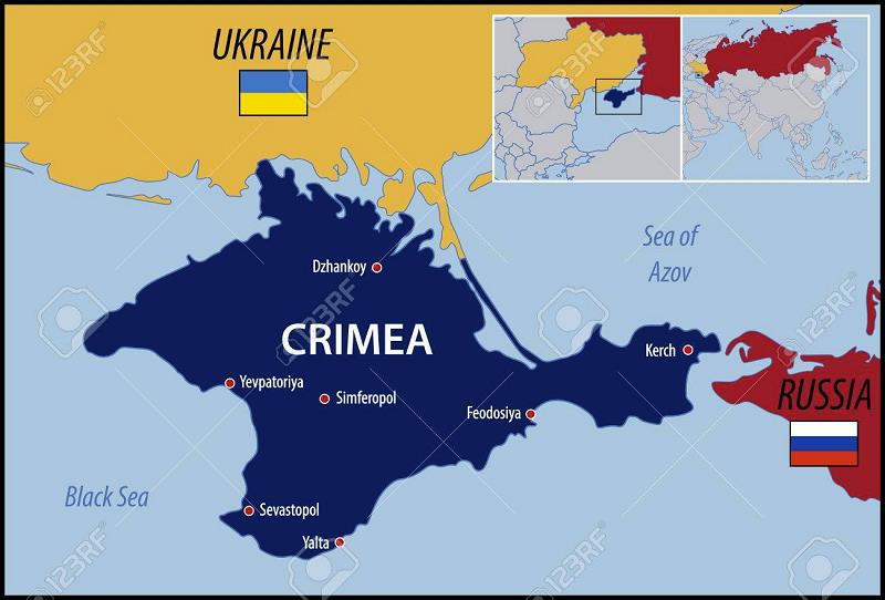 crimea-on-map
