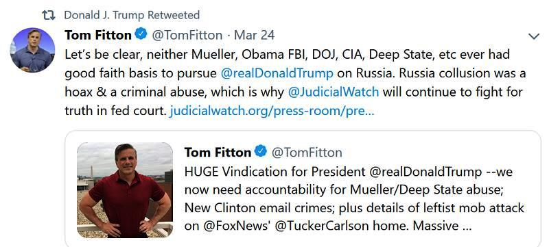 tom-fitton-tweet-on-russia-collusion-hoax