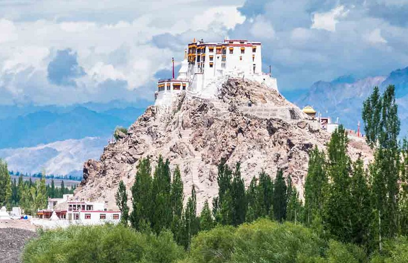 Stakna gompa, The Tiger's Nose