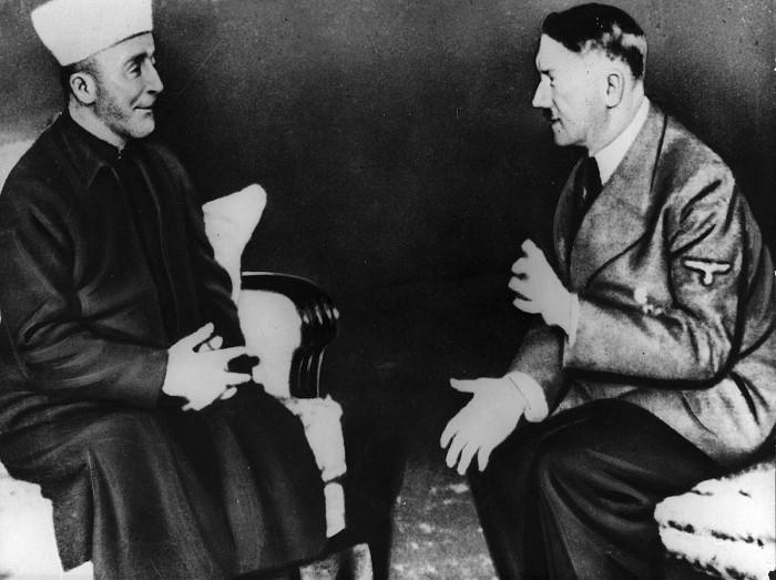 Grand Mufti Amin Al-Husseini with Hitler – Nov. 28, 1941