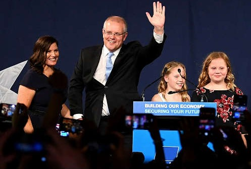 Scott Morrison wins in Australia