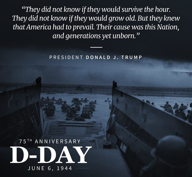 trump-d-day-message