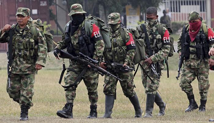 ELN Narco-Marxist guerrillas in Venezuela
