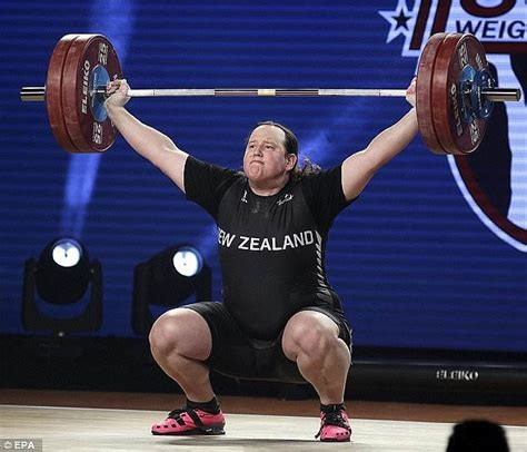 Weightlifter Gavin Hubbard who now claims to be a woman named Laurel