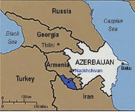 azerbaijan-on-map