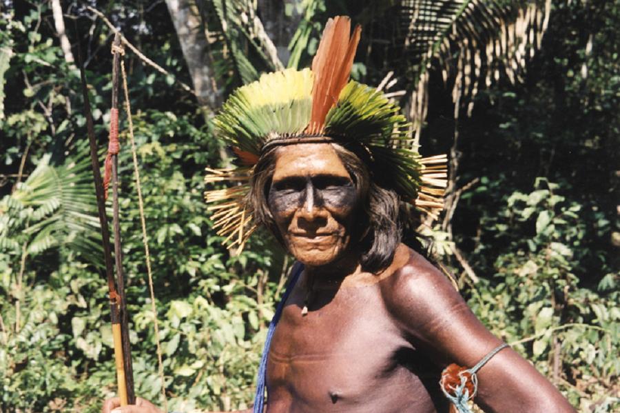 xikrin-kayapo-tribesman