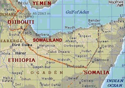 somaliland-on-map