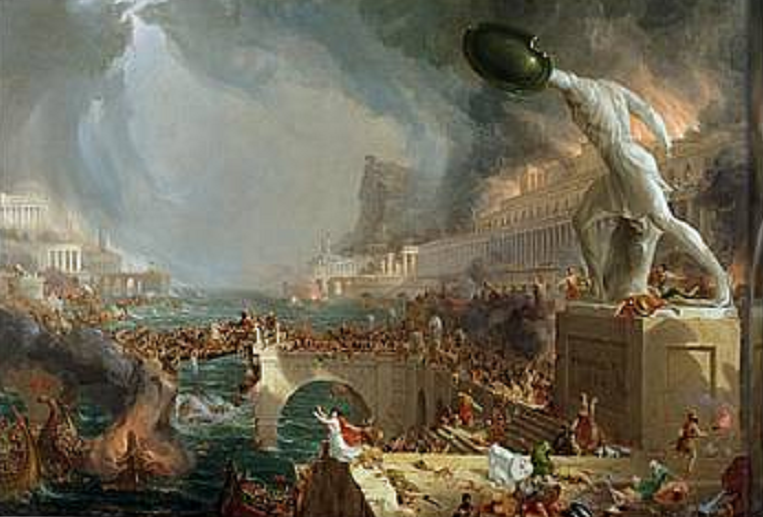The Fall of Rome by Thomas Cole, 1836